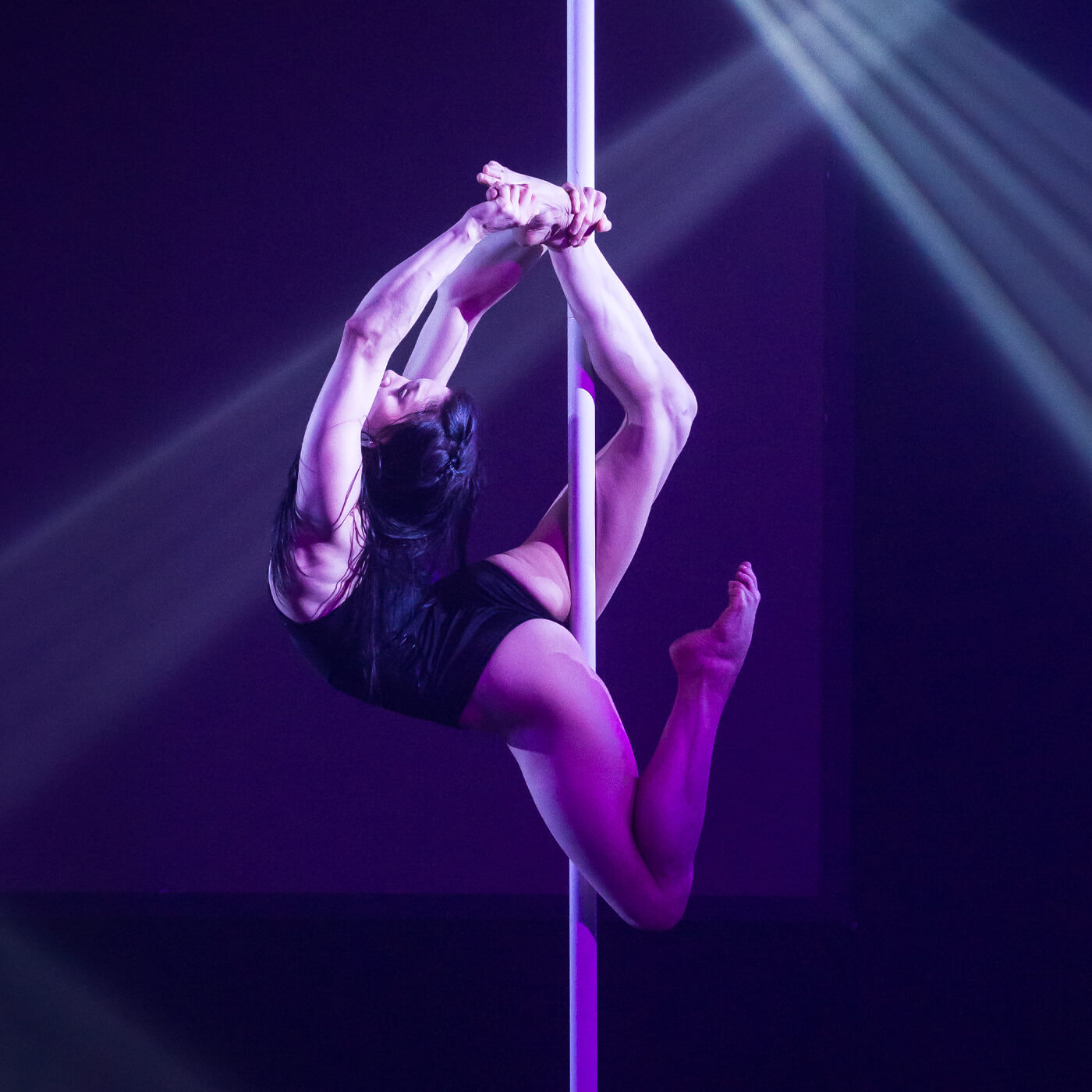 fitnessgerate pole dance stange