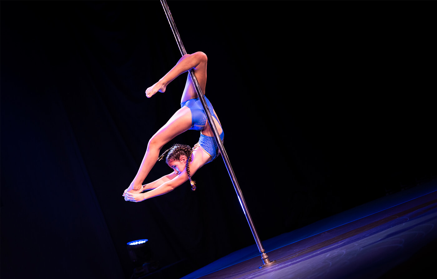 attrezzi fitness pole dance